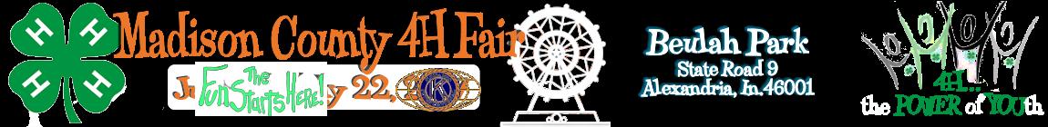Madison County 4H Fair – Alexandria Indiana Kiwanis Club